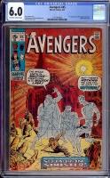 Avengers #85 CGC 6.5 ow/w