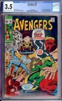 Avengers #86 CGC 3.5 ow/w