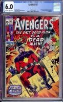 Avengers #89 CGC 6.0 ow/w