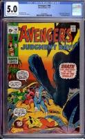 Avengers #90 CGC 5.0 ow/w