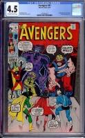 Avengers #91 CGC 4.5 ow/w