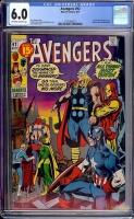 Avengers #92 CGC 6.0 ow/w