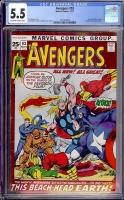 Avengers #93 CGC 5.5 ow/w
