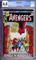Avengers #94 CGC 6.0 w