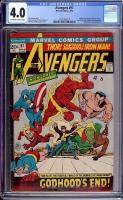 Avengers #97 CGC 4.0 ow/w