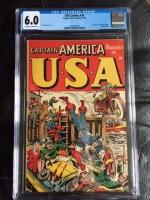 USA Comics #16 CGC 6.0 ow/w
