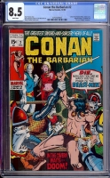 Conan The Barbarian #2 CGC 8.5 w