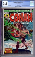 Conan The Barbarian #37 CGC 9.4 ow