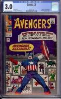 Avengers #16 CGC 3.0 ow/w