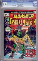 Frankenstein #2 CGC 9.4 ow/w
