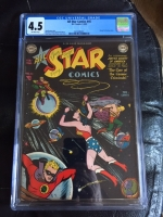 All Star Comics #45 CGC 4.5 ow