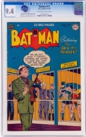 Batman #71 CGC 9.4 w Alfred Pennyworth Collection