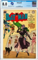Batman #84 CGC 8.0 cr/ow Alfred Pennyworth Collection