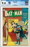 Batman #87 CGC 9.4 cr/ow Alfred Pennyworth Collection