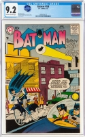 Batman #108 CGC 9.2 ow/w Alfred Pennyworth Collection