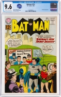 Batman #151 CGC 9.6 ow/w Alfred Pennyworth Collection