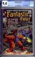 Fantastic Four #43 CGC 9.4 w