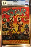 All Star Comics #11 CGC 2.5 ow