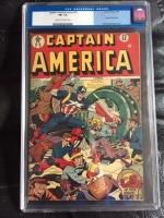 Captain America Comics #52 CGC 5.5 cr/ow
