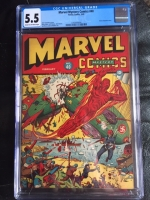 Marvel Mystery Comics #40 CGC 5.5 cr/ow