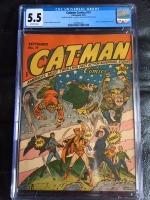 Catman Comics #19 CGC 5.5 ow