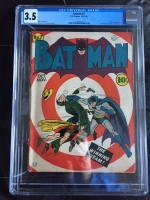 Batman #7 CGC 3.5 cr/ow