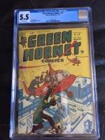 Green Hornet Comics #27 CGC 5.5 ow