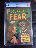 Journey Into Fear #20 CGC 4.5 cr/ow