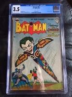 Batman #66 CGC 3.5 ow/w