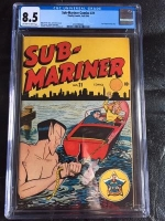 Sub-Mariner Comics #21 CGC 8.5 ow/w