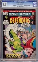 Marvel Feature #3 CGC 8.5 ow/w