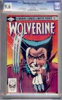 Wolverine Limited Series #1 CGC 9.6 w
