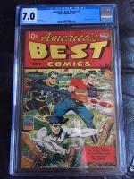 America's Best Comics #9 CGC 7.0 cr/ow