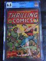 Thrilling Comics #42 CGC 6.5 ow/w