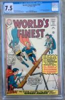 World's Finest Comics #154 CGC 7.5 ow/w