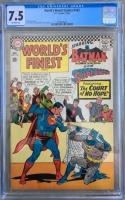 World's Finest Comics #163 CGC 7.5 ow