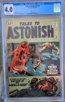 Tales to Astonish #30 CGC 4.0 ow