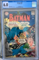 Batman #199 CGC 6.0 cr/ow