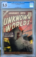 Journey Into Unknown Worlds #58 CGC 5.5 ow/w