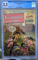 Star Spangled Comics #119 CGC 2.5 ow/w