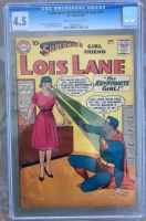 Superman's Girlfriend Lois Lane #16 CGC 4.5 cr/ow
