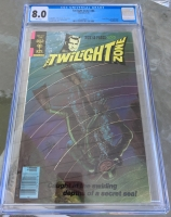 Twilight Zone #84 CGC 8.0 w