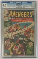 Avengers #7 CGC 4.0 ow/w