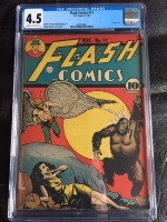 Flash Comics #11 CGC 4.5 cr/ow