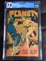 Planet Comics #50 CGC 7.0 ow