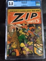 Zip Comics #29 CGC 2.5 cr/ow