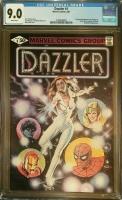 Dazzler #1 CGC 9.0 w