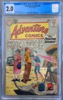 Adventure Comics #283 CGC 2.0 ow