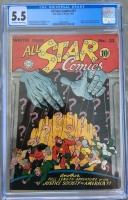 All Star Comics #23 CGC 5.5 ow/w