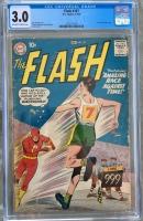 Flash #107 CGC 3.0 ow/w